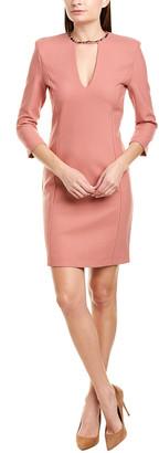 Pinko Wool-Blend A-Line Dress