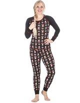 Noble Mount Women's Knit Sleep/Lounge Set (Juniors) - Santa Black