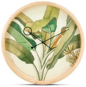 Apt2B Botanical Wall Clock by Cloudnola PALM