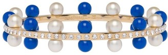 Miu Miu Pearl And Crystal Bracelet