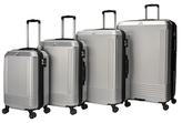 Alpine Metallic Micro Diamond Finish Spinner Luggages (Set of 4)
