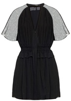 Isabel Marant Retra short-sleeved crepe mini dress