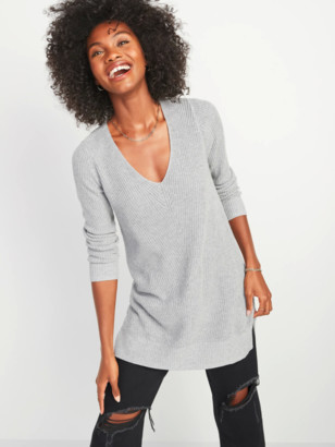 Old Navy Textured V-Neck Sweater Tunic for Women