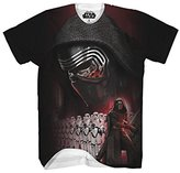 Star Wars Men's Episode VII Kylo Sub F and B T-Shirt