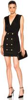Balmain Drape Mini Dress