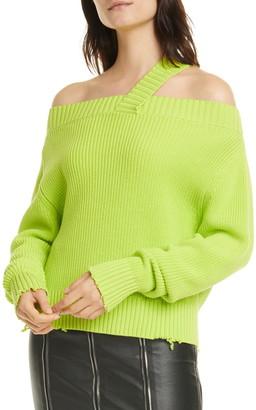 RtA Beckett Strap Detail Sweater