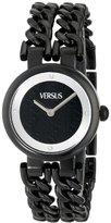 Versus By Versace Women's SGR060013 Berlin Analog Display Japanese Quartz Black Watch