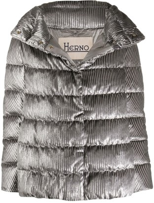 Herno Metallic Puffer Jacket