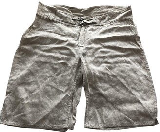 Burberry Beige Cloth Shorts for Women