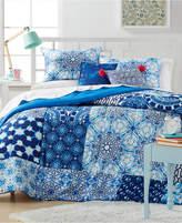 Idea Nuova Ideanuova Closeout! Leah Patchwork 5-Pc. Full/Queen Comforter Set Bedding