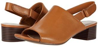 Clarks Elisa Lyndsey (Tan Leather) Women's Shoes