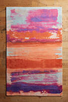 Anthropologie Ombre Brushstrokes Rug Swatch