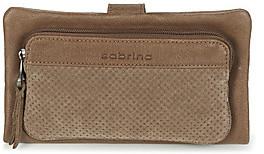 Sabrina NINE PERFORE women's Purse wallet in Beige