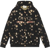 Gucci stars and moon print hoodie