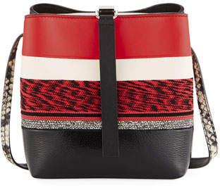 Proenza Schouler Frame Mixed Media Crossbody Bag