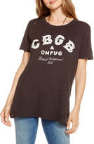 Chaser CBGB Distressed Graphic Tee