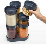 Joseph Joseph FoodStore 12-pc. Glass Storage Container Set with Carousel Base