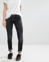 Blank NYC Skinny Washed Black Jeans