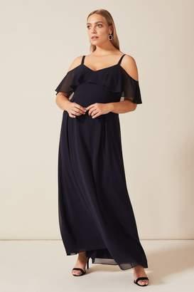 Studio 8 Womens Blue Wynter Maxi Dress - Blue