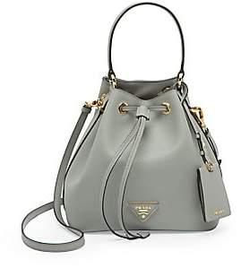 Prada Women's Saffiano Leather Bucket Bag