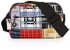 Ganni Women's Plaid Crossbody Bag