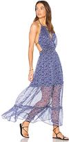 Sam&lavi Leo Dress in Blue. - size L (also in )