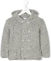 Il Gufo hooded cardigan - kids - Polyamide/Viscose/Wool - 2 yrs