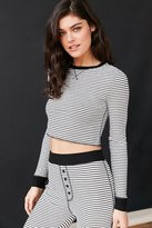 Out From Under Cropped Thermal Long Sleeve Top