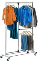 Honey-Can-Do Dual Bar Garment Rack