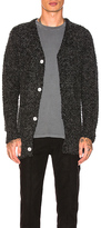 Publish Garin Cardigan in Charcoal. - size L (also in M,S,XL)