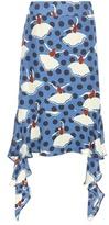 Marni Printed Silk Skirt