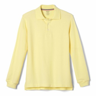 French Toast Little Boys' Long Sleeve Pique Polo