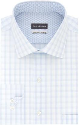 Van Heusen Men's Air Slim-Fit Spread-Collar Dress Shirt