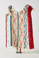 Anthropologie Embroidered Pippa Throw Blanket
