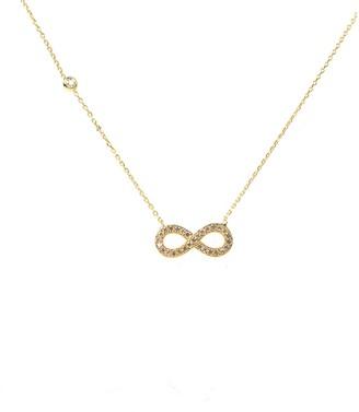 Latelita Eternity Infinity Necklace Gold