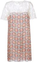 P.A.R.O.S.H. floral print dress - women - Cotton/Polyamide/Polyester - S