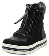GUESS Madon Women Round Toe Synthetic Black Walking Shoe.