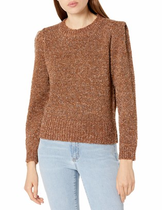 ASTR the Label Women's Caroline Mock Neck Relaxed Fit Sweater