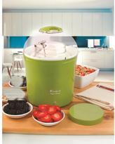 Euro Cuisine Electric Yogurt and Greek Yogurt Maker with 2 qt. Glass Jar in Green