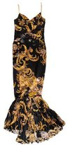 Just Cavalli Printed Mermaid Dress w/ Tags