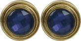 VAUBEL Stone Bezel Clip Earrings