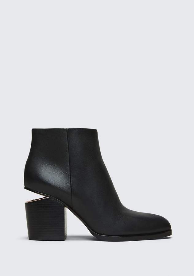 Alexander Wang GABI BOOTIE WITH ROSE GOLD BOOTS