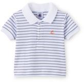 Petit Bateau Baby boy sailor-striped polo shirt