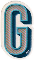 Anya Hindmarch 'G' sticker - women - Goat Skin - One Size
