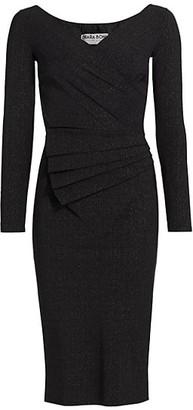 Chiara Boni Kaya Metallic Bodycon Dress
