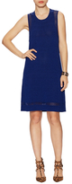 Susana Monaco Brendina Cotton Open Knit Shift Dress