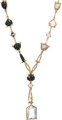 Swarovski Crystal Manor 18K Rose Gold Plated Necklace