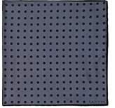 Lanvin Men's Polka Dot Silk Pocket Square