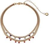 BCBGeneration Short Multi Row Necklace (Multi/Shiny Gold) Necklace