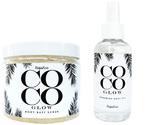CocoGlow Body Scrub & Body Oil Set